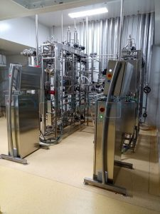 25L and 300L fermenters at the customer's site
