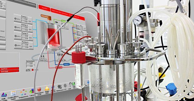 Lab-scale fermenter/bioreactor