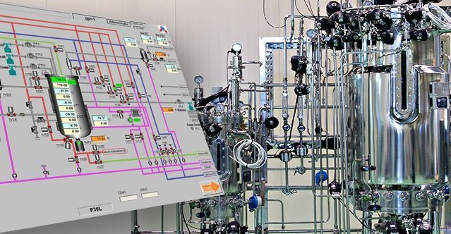 Pilot-scale fermenter/bioreactor