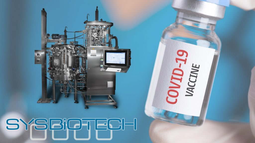 Sysbiotech technological equipment for COVID-19 vaccine manufacturing