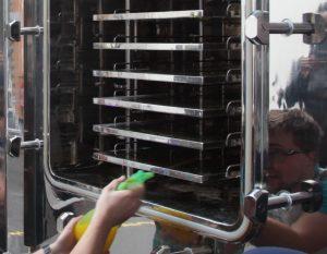 freeze-dryer CIP test