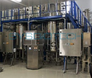 Pilot-scale facility for industrial biotechnology