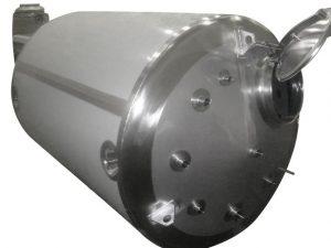 storage vessel horizontal